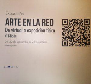 Una exposición virtual, y ahora física, de artistas latinoamericanos organizada por Casa de América.