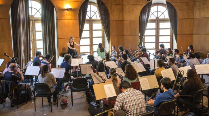 Violines entregados por Israel a la OSIC se utilizarán en ensayos y clases gratuitas