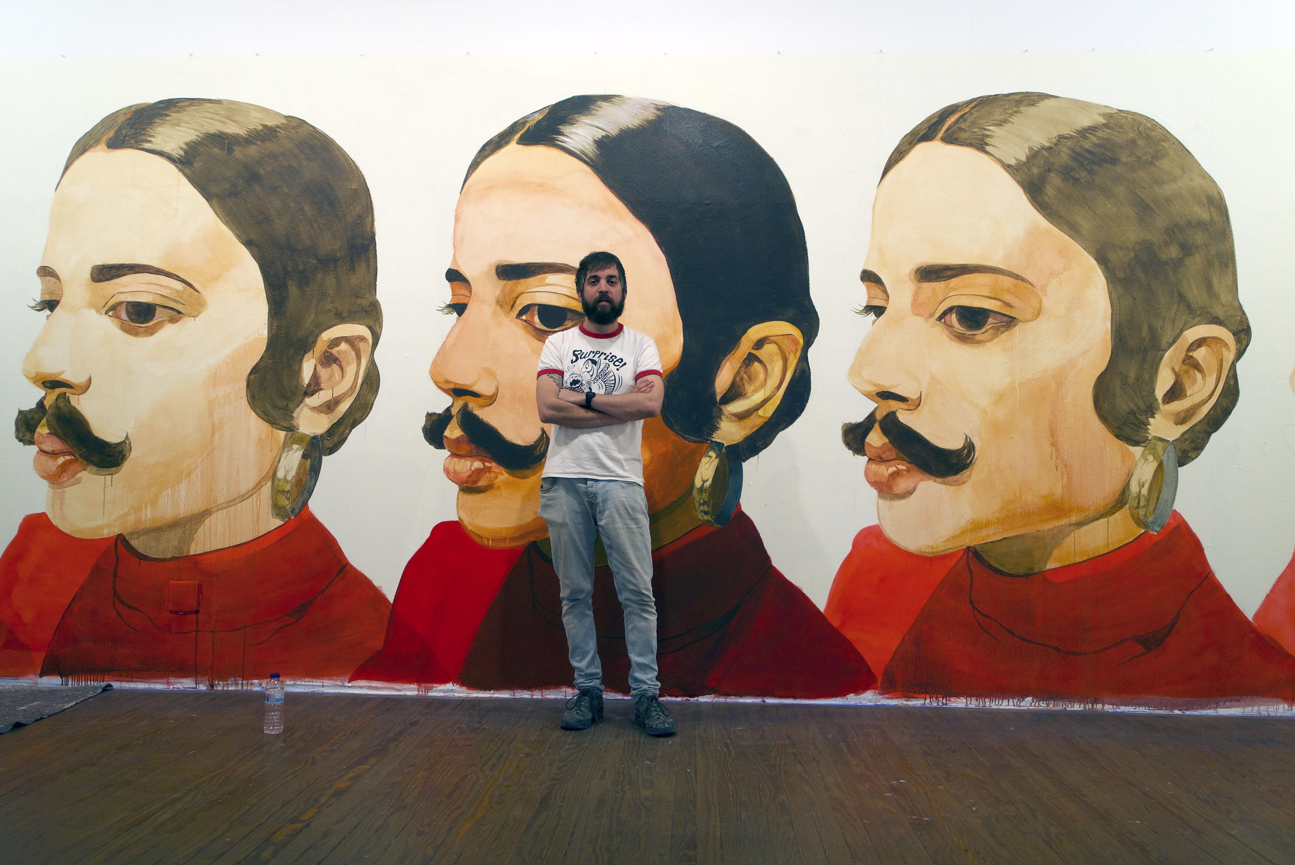 David de Las Heras, artista